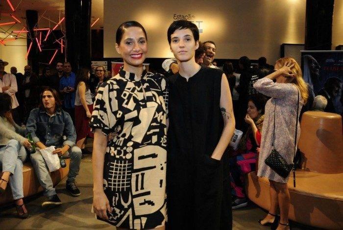 Camila Pitanga e a namorada, Beatriz Coelho