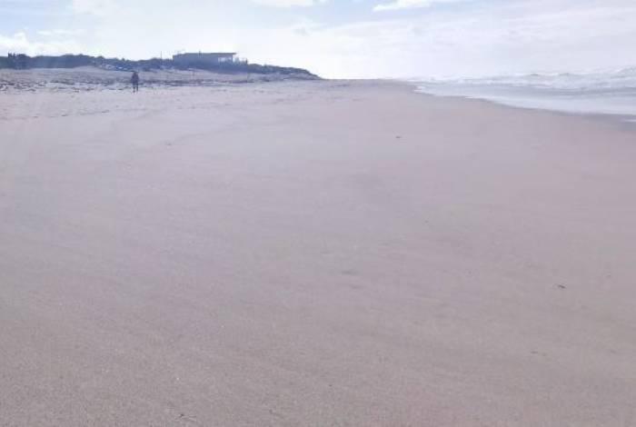 Praia de Esposende, no distrito de Braga, Portugal