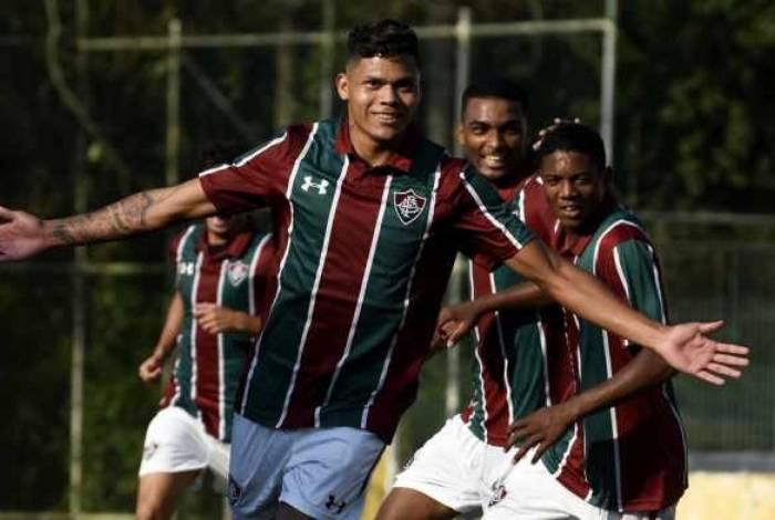Evanílson, atacante do Fluminense