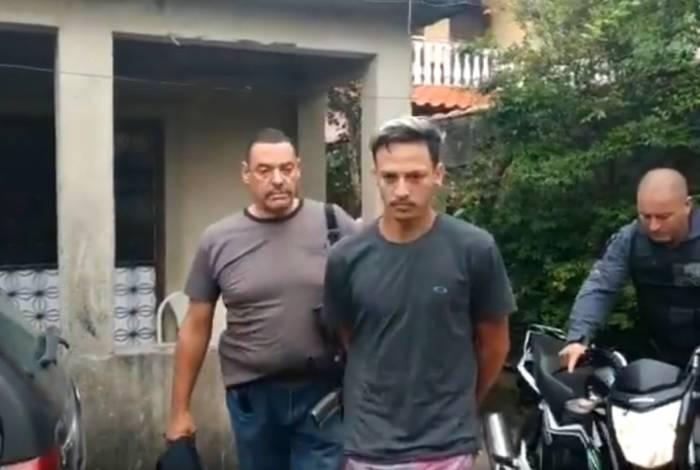 Wemerson Roberto da Silva Camilo foi preso em flagrante com um moto roubada