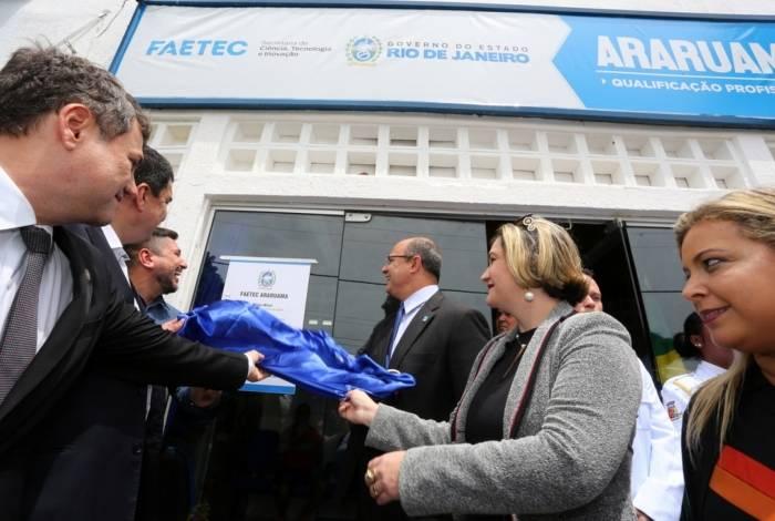 Estado inaugura unidade da Faetec em Araruama e região recebe mais investimentos