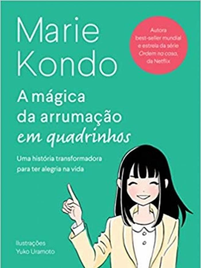 Método Marie Kondo ganha versão em quadrinhos