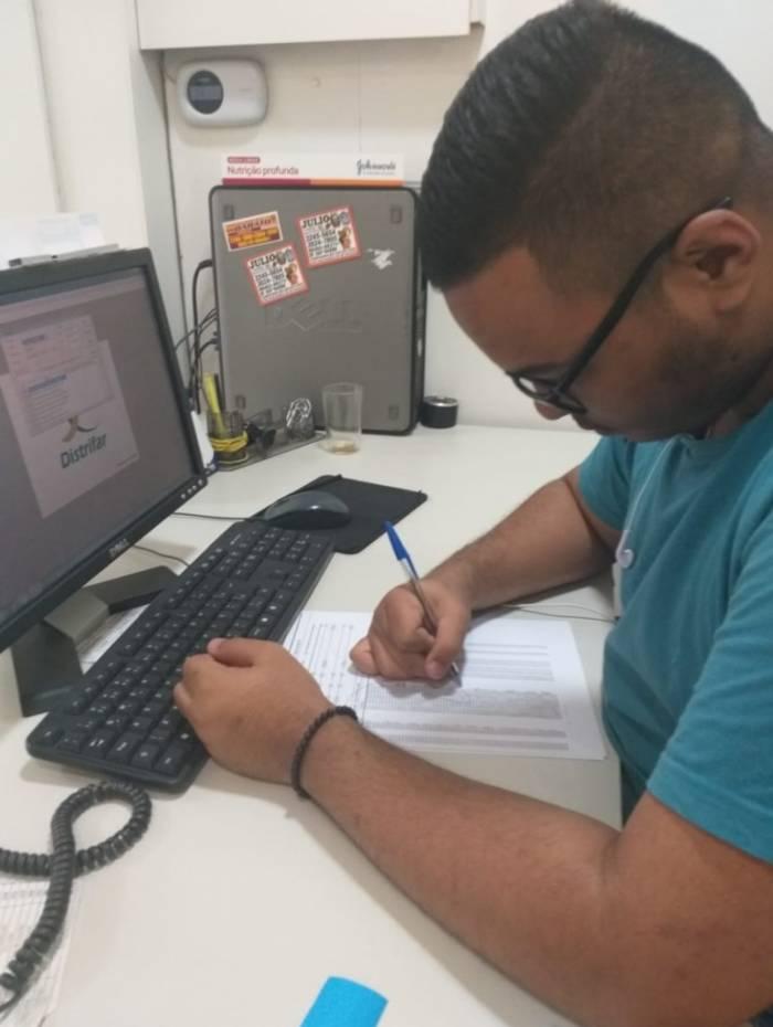 Daniel Souza de Jesus, de 18 anos, recorreu ao programa e conta que conhecimentos adquiridos com a experiência deve ajudá-lo futuramente no mercado de trabalho