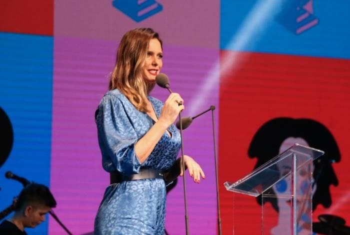 Fernanda Lima em evento em São Paulo