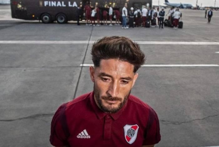 Lateral diz que River é o melhor da América mesmo perdendo para o Flamengo