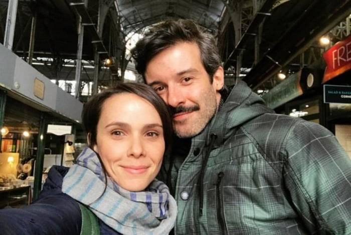 Débora Falabella e Gustavo Vaz