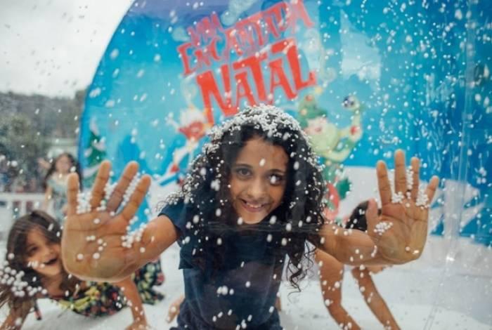 O evento conta com oficinas de enfeites natalinos e brinquedos sustentáveis, oficinas de canto e coral, espetáculo teatral e cinema