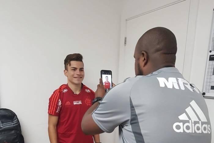 Promessa equatoriana, Piero Ulloa chegou a realizar exames médicos no Flamengo