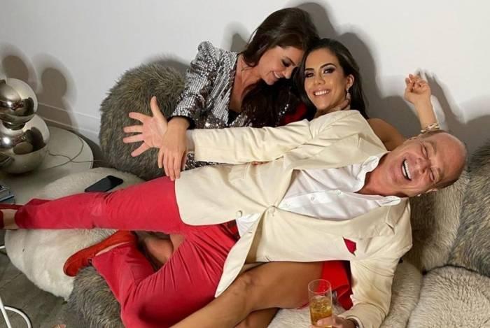 Simone Abdelnur, Daniela Albuquerque e Marcelo de Carvalho