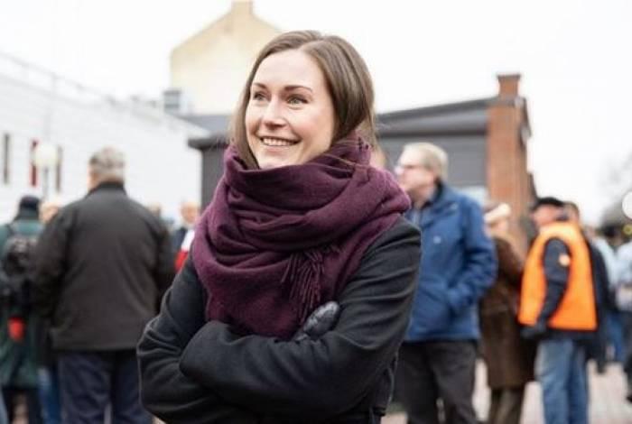 'Nunca pensei em minha idade ou gênero. Penso nas razões pelas quais entrei na política e naquelas coisas pelas quais ganhei a confiança do eleitorado', diz Sanna Marin