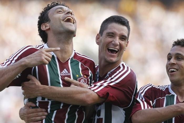 Fred e Thiago Neves: amigos têm chance de reeditar dupla de sucesso no Fluminense