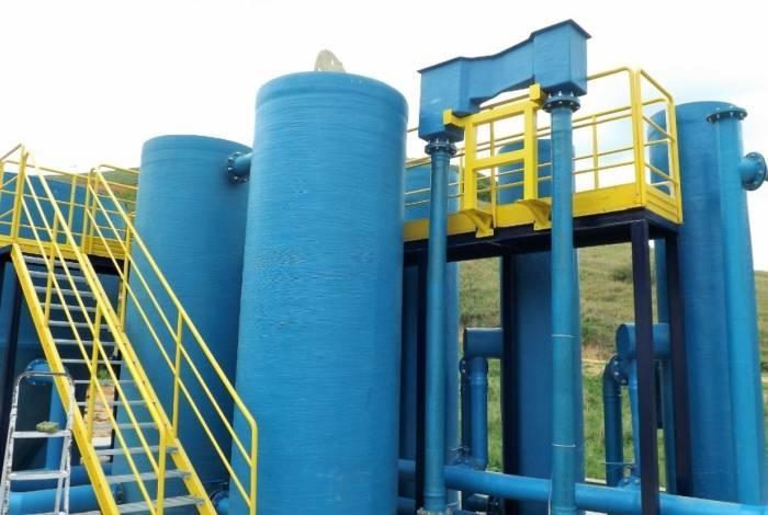 Nova Estação de Tratamento de Água (ETA) recebeu investimento de aproximadamente R$ 2 milhões
