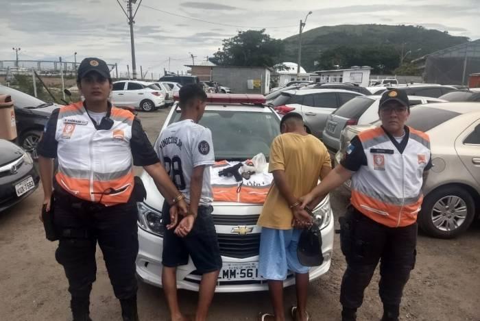 Menores foram apreendidos por agentes do programa Niterói Presente