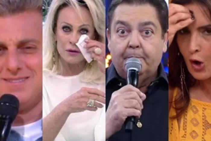 Luciano Huck, Ana Maria, Faustão e Fátima Bernardes