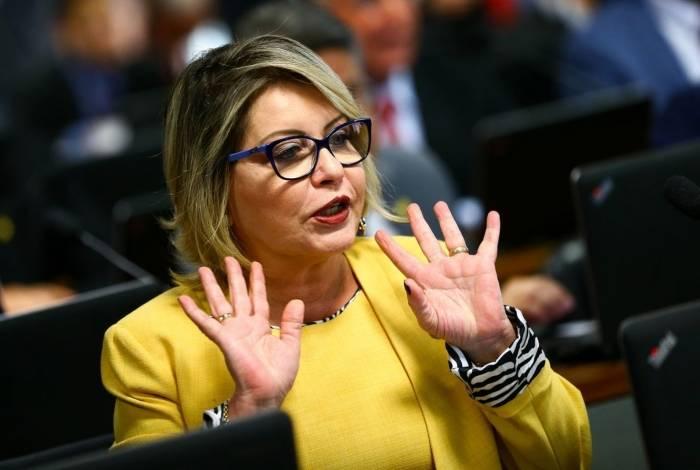 A senadora Selma Arruda
