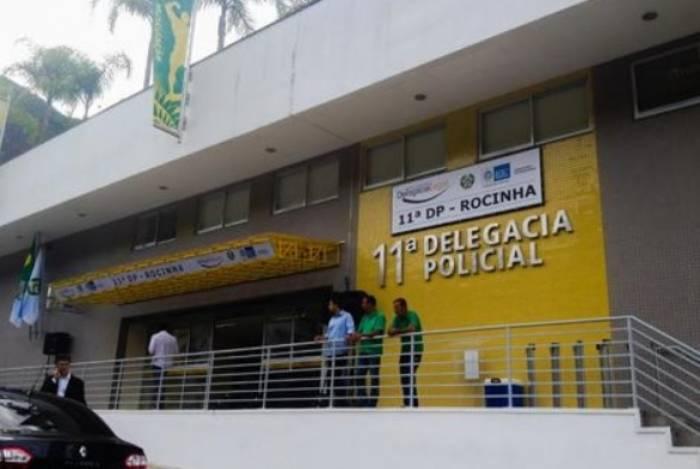 Criminoso foi preso e encaminhado a 11ªDP (Rocinha), onde responderá pelos crimes