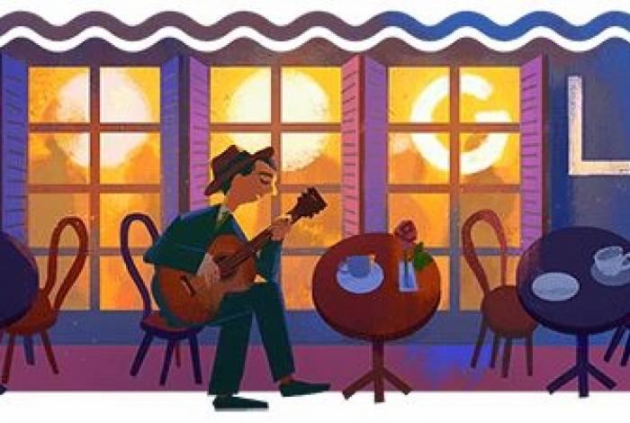 Doodle do Google homenageia Noel Rosa