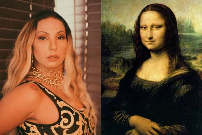 Valesca Popozuda se compara a Mona Lisa