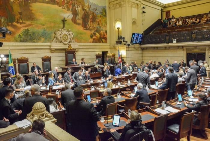 Vereadores da Câmara Municipal do Rio votaram o projeto nesta quinta-feira