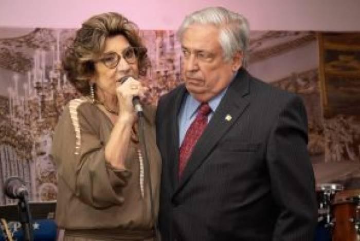 Idalina e Orlando Bottari na comemoração de 60 anos do Centro Social São Vicente
