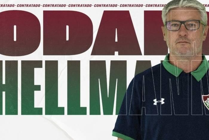 Odair Hellmann foi anunciado como técnico do Fluminense para 2020