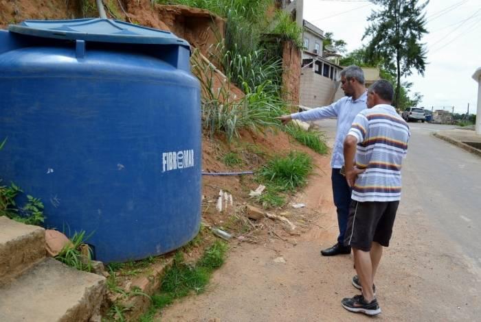 Um sistema de bomba irá atender cerca de 200 famílias das ruas Rui Silvestre Henriques e Aderbal de Souza, no bairro Mangueira