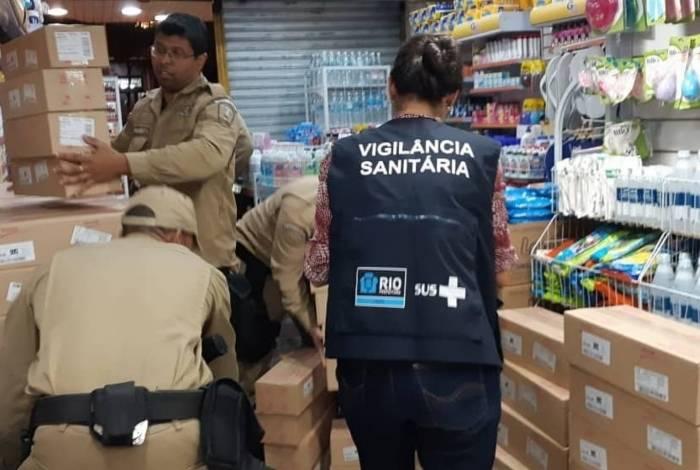Vigilância Sanitária do Rio interditou farmácia em Copacabana por comércio irregular de sibutramina