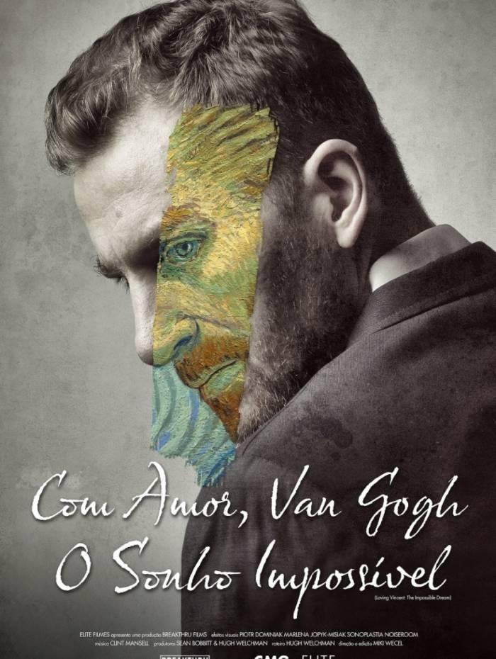 Cartaz do cocumentário 'Com Amor, Van Gogh - O Sonho Impossível'