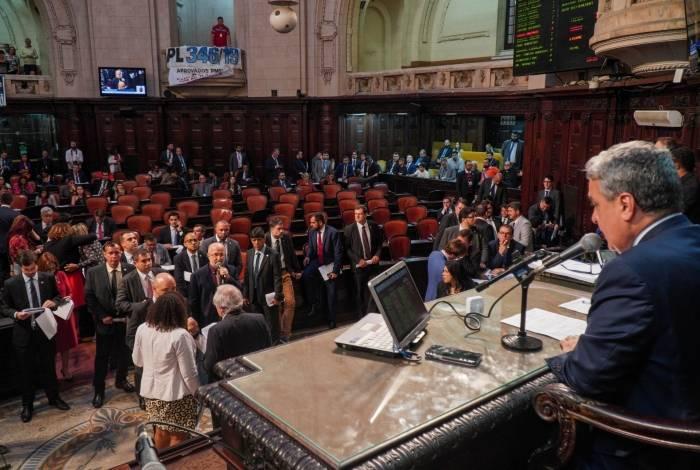 PEC que desvincula verbas dos fundos foi aprovada na Alerj, em primeira discussão, na quinta-feira