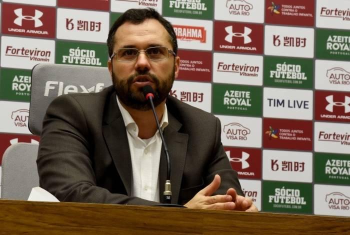 o presidente Mário Bittencourt tem mostrado serviço no Fluminense
