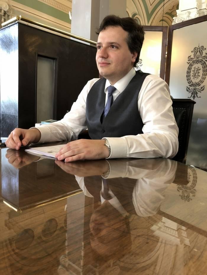 Novo presidente da Biblioteca Nogueira, Rafael Nogueira