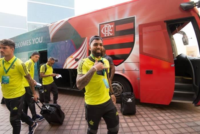 Flamengo chegou ao Catar