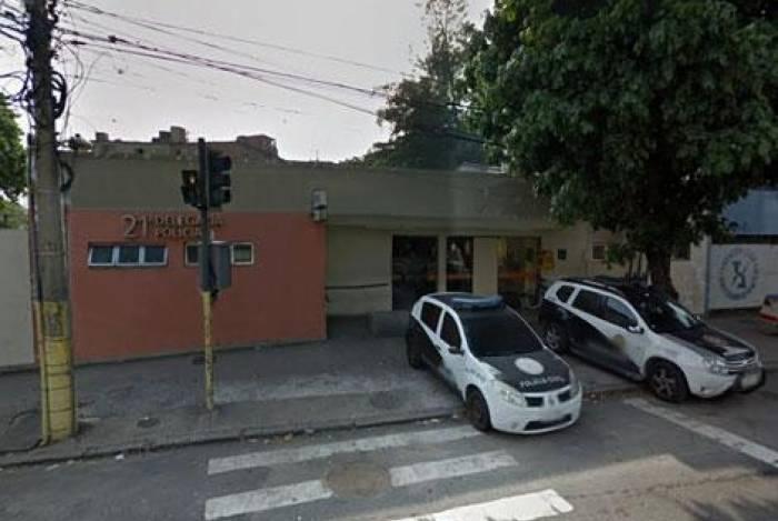 Malvadeza da Perereca foi preso por policiais da 21ª DP (Bonsucesso)