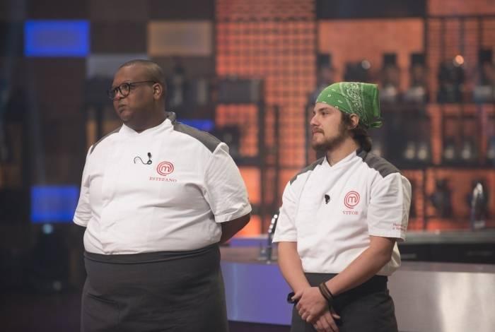 Estefano e Vitor são os finalistas do 'MasterChef'