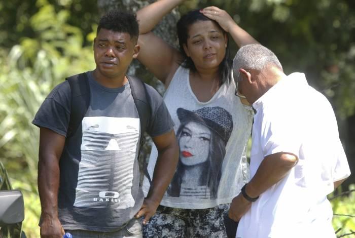 Ontem, o filho da vítima, Marcelo Jesus, esteve no IML de São Gonçalo para a liberação do corpo