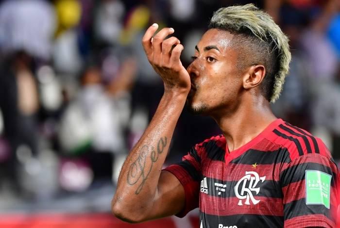 Bruno Henrique: um dos maiores destaques do Fla em 2019