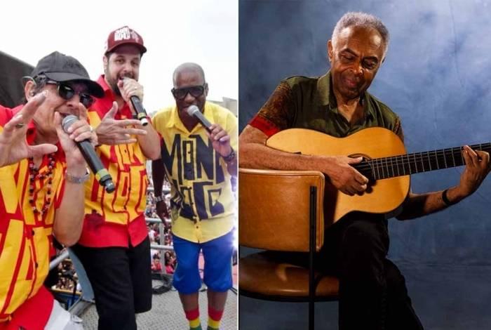 Monobloco e Gilberto Gil