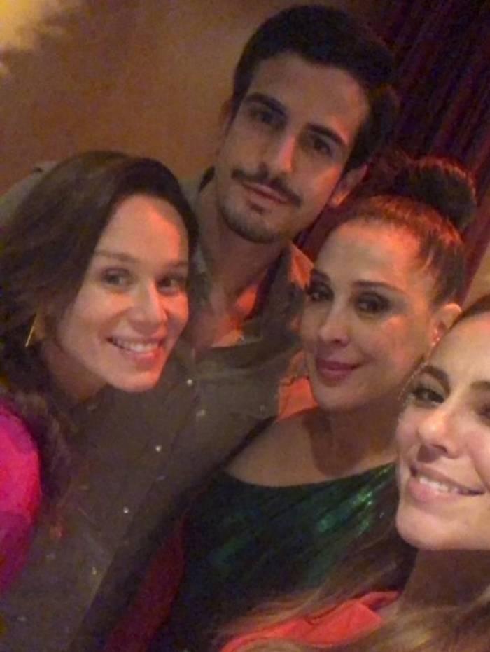 Mariana Ximenes, Enzo Celulari, Claudia Raia e Paolla Oliveira