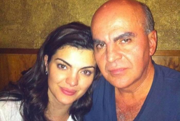 Mayana Neiva e seu pai, Vladimir Neiva