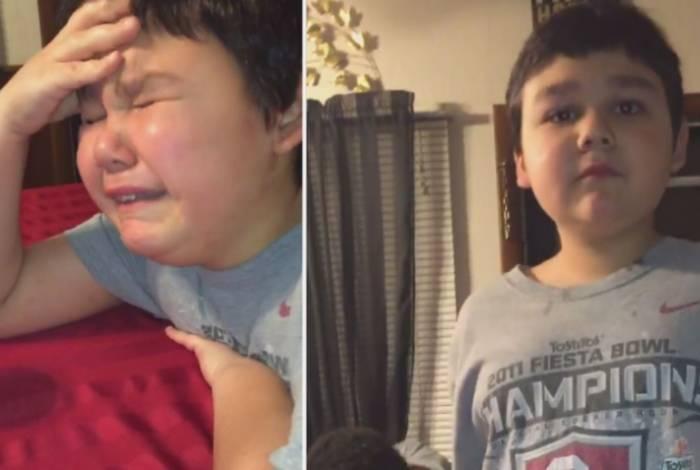 Vídeo do momento de emoção viralizou na web