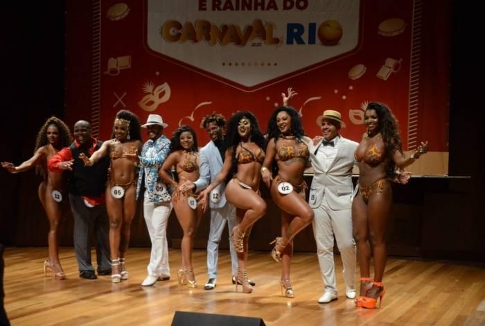 Final do concurso de Rei Momo e Rainha do Carnaval será no dia 12 de janeiro