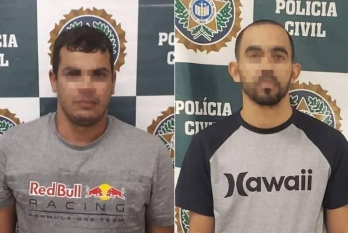 Dupla foi presa pela polícia