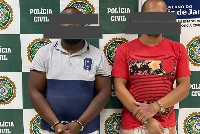 Dupla foi presa em flagrante