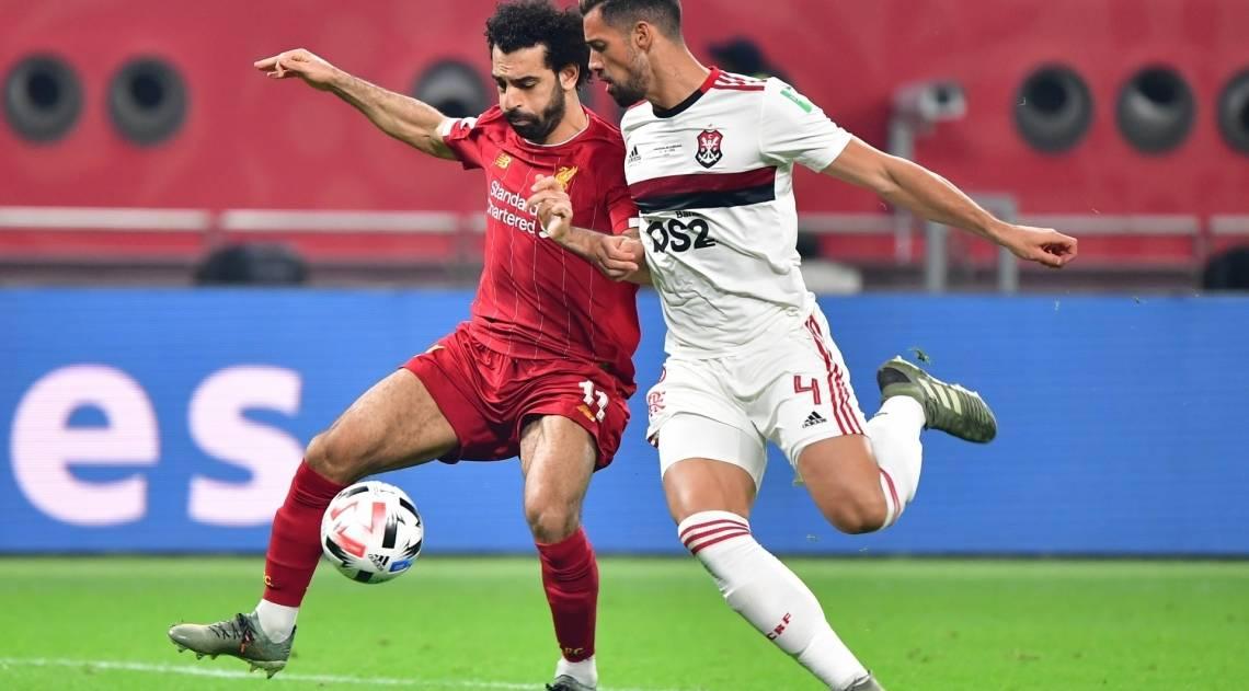 Flamengo foi derrotado pelo Liverpool