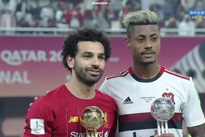 Bruno Henrique levou a Bola de Prata do Mundial de Clubes