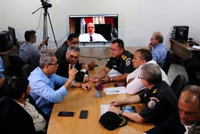As novas medidas foram apresentadas em reunião realizada no Centro de Estudos Ambientais, em Angra dos Reis, da qual o Governador Wilson Witzel participou por videoconferência