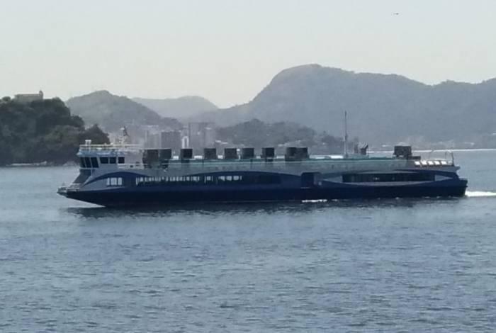 CCR Barcas muda intervalos e reduz viagens