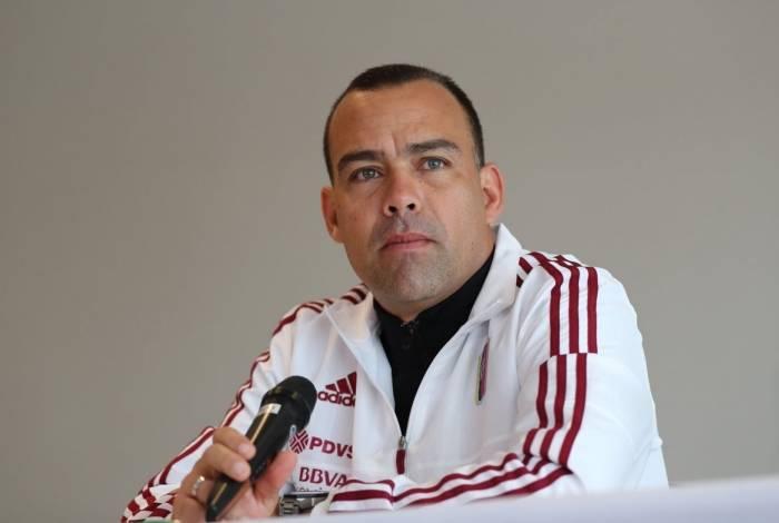 Rafael Dudamel, técnico da seleção da Venezuela