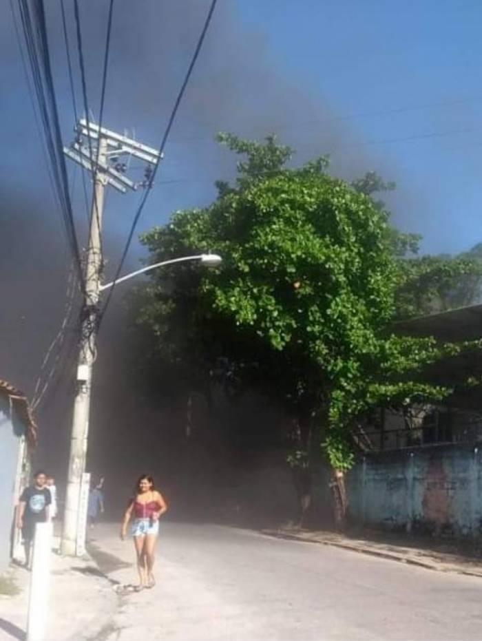 Incêndio em escola em Realengo