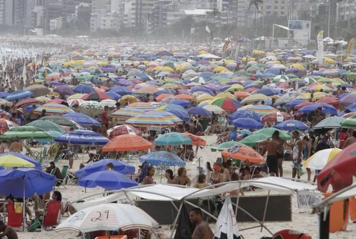 Rio,26/12/2019 -ARPOADOR, Praia do Arpoador .Foto: Cleber Mendes/Agência O Dia